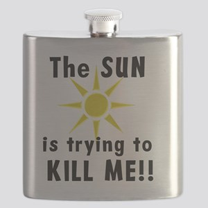 The Sun is Trying to Kill Me! Flask