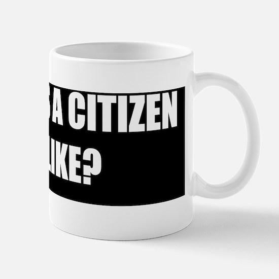 citizenstickerwhite Mug