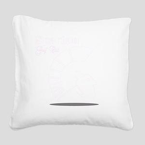 spartans blk Square Canvas Pillow