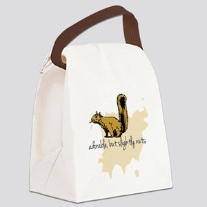 Slightly Nuts Canvas Lunch Bag