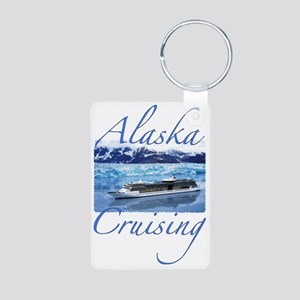 2-alacruise Aluminum Photo Keychain