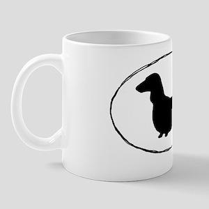 longhairdoxiesticker Mug