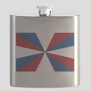 Vlag van Nederland - Flag of the Netherlands Flask