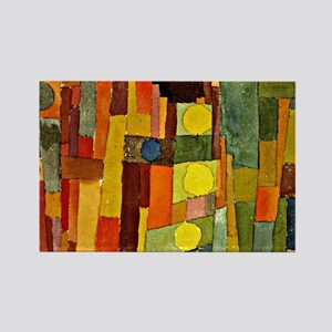 Paul Klee - In the Style of Kairo Rectangle Magnet