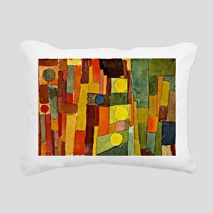 Paul Klee - In the Style Rectangular Canvas Pillow