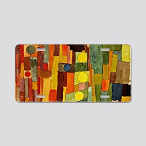 Paul Klee - In the Style of Aluminum License Plate