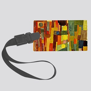 Paul Klee - In the Style of Kair Large Luggage Tag