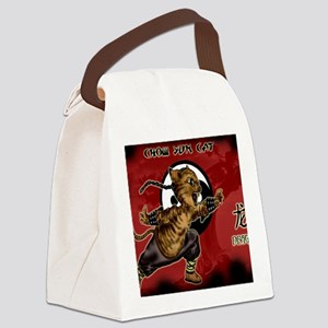 KUNG FU KITTY-CHOW YUN CAT-DRAGON Canvas Lunch Bag