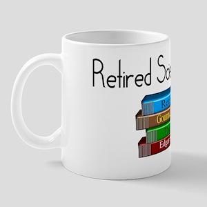 Retired Science Teacher Mug