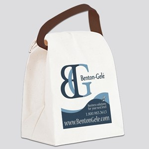 Benton-Gele Tile Canvas Lunch Bag