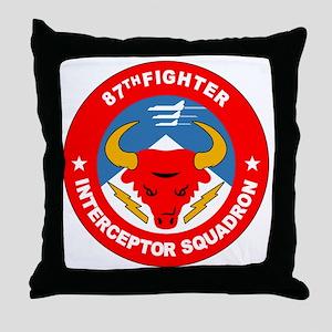 87th_interceptor_squadron Throw Pillow