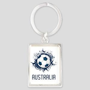 Australia3 Portrait Keychain