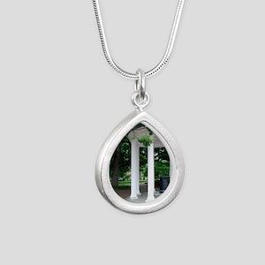 DSC_0035 Silver Teardrop Necklace