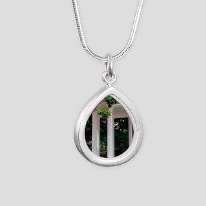 DSC_0038 Silver Teardrop Necklace