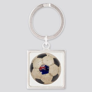 Australia Football2 Square Keychain