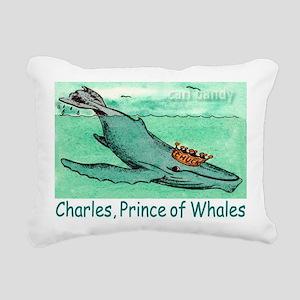 CHARLES, GREETING CARD c Rectangular Canvas Pillow