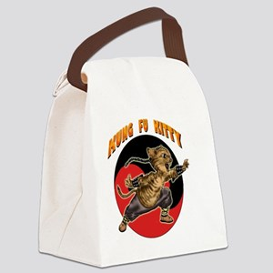 KUNG FU KITTY -CHOW YUN CAT Canvas Lunch Bag