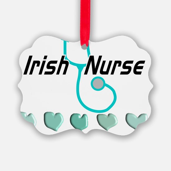 Irish Nurse Ornament
