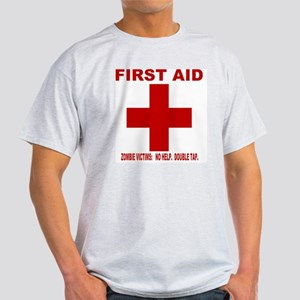 zombiefirstaid4 Light T-Shirt