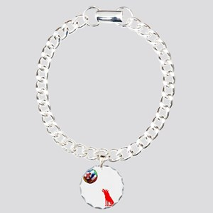 Howling At The Moon Charm Bracelet, One Charm