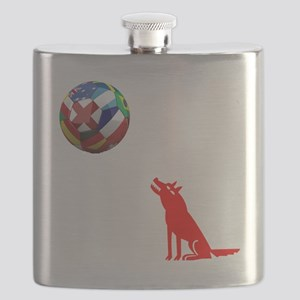 Howling At The Moon Flask