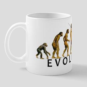 evolution_wht Mug