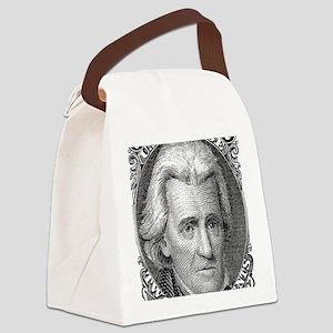 us-73-blackjack Canvas Lunch Bag