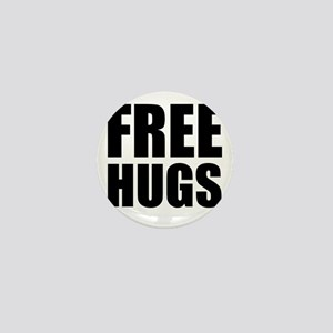 Free Hugs W Mini Button