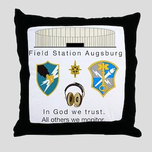 FSAv2_God_Tshirt Throw Pillow