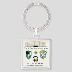 FSAv2_God_Tshirt Square Keychain