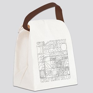 Oregon Chautauqua 2010 Logo Canvas Lunch Bag