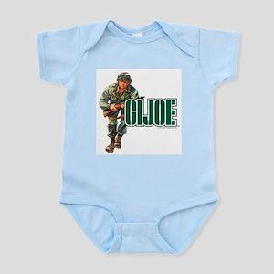 G.I. Joe Logo Baby Light Bodysuit
