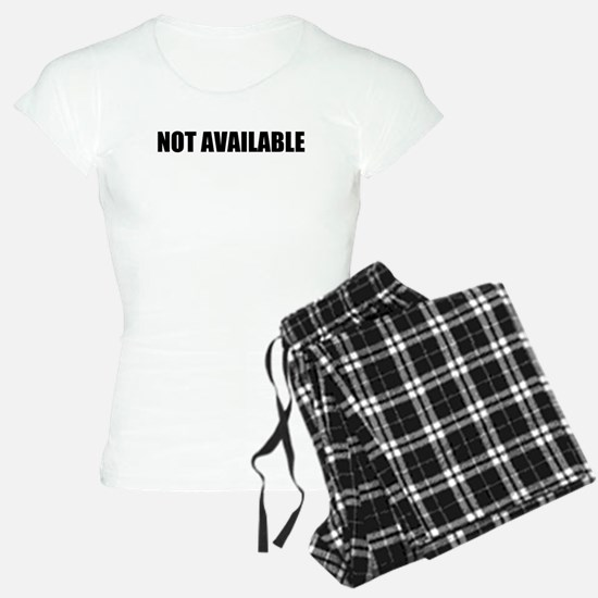 Not Available W Pajamas
