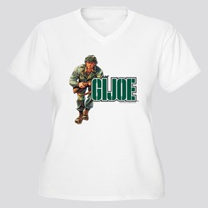 G.I. Joe Logo Women's Plus Size V-Neck T-Shirt