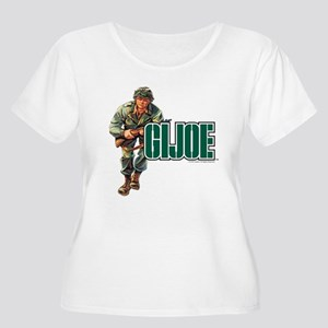 G.I. Joe Logo Women's Plus Size Scoop Neck T-Shirt