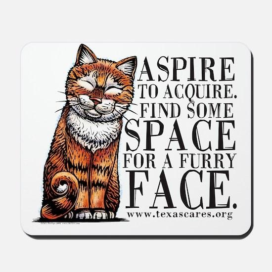 aspire_to_acquire_CLRLogo Mousepad