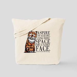 aspire_to_acquire_CLRLogo Tote Bag