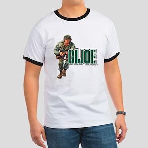 G.I. Joe Logo Ringer T