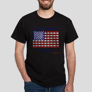 bass nation Dark T-Shirt