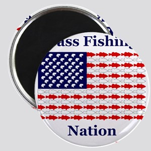 bass nation Magnet