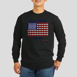 bass nation Long Sleeve Dark T-Shirt