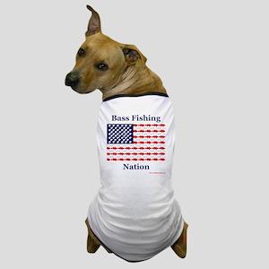 bass nation Dog T-Shirt