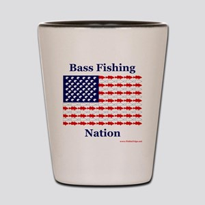 bass nation Shot Glass