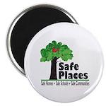 """Safe Places 2.25"""" Magnet (100 pack)"""