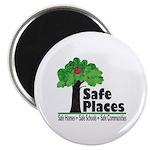 Safe Places Magnet