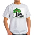 Safe Places Ash Grey T-Shirt