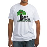 Safe Places Fitted T-Shirt