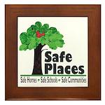 Safe Places Framed Tile