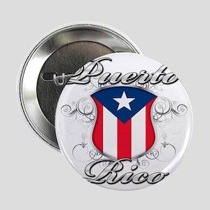 """puerto rico b 2.25"""" Button"""