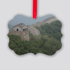 2-great-wall Picture Ornament